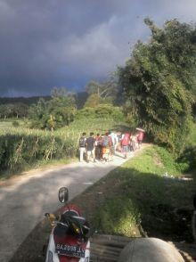 Meski Berstatus Waspada, Gunung Marapi tetap Didaki Ribuan Orang pada Malam Pergantian Tahun