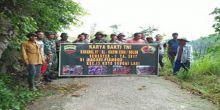 Nagarinya Jadi Sasaran Karya Bakti, Wali Nagari Pianggu Berterima Kasih ke TNI