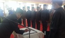 Bupati Sijunjung Lantik 7 Pejabat Tinggi Pratama
