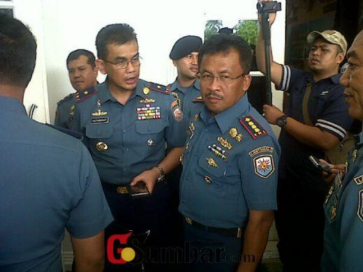 Danlantamal II Padang: Pangkalan TNI AL Bertugas Sebagai Motivator dan Dinamisator Pembangunan Kelautan di Daerah
