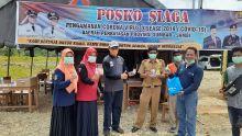 Anggota DPRD Syahrul Furqan Kunjungi Posko Gugus Tugas Covid-19 di Perbatasan Dharmasraya