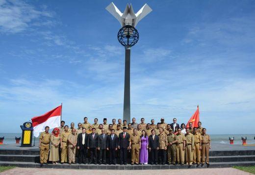 Muaro Lasak dan Monumen Perdamaian Turut Jadi Saksi Kerjasama Padang Sister City dengan Ba Ria Vung Tau Vietnam