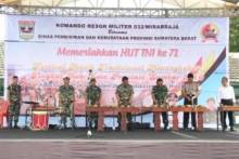 Korem 032/Wirabraja Adakan Festival Musik Tradisonal Minangkabau