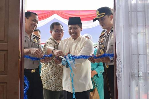 Peresmian Klinik Polres Padang Panjang, Kapolres Apresiasi Walikota Hendri Arnis