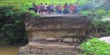 Jembatan Jebol di Lubuk Gadang, Transporasi ke Bukittinggi Putus Total