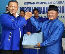 Sekali Dayung Dua Pulau Terlampau, Almaisyar Mendaftar ke DPD PAN dan PDC PBB