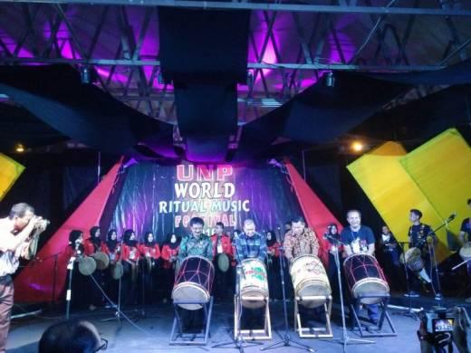 Ritual Music Festival Tingkat Dunia Dilaksanakan UNP, Wagub: Mari Dukung Pariwisata Sumbar