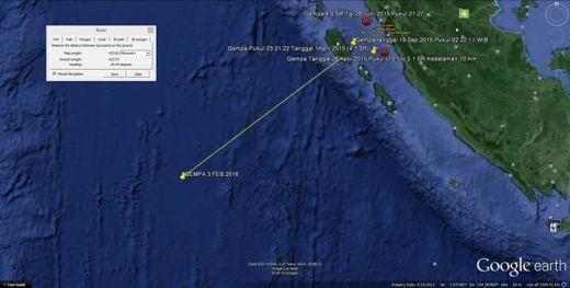 Gempa Kuat di Mentawai Tidak Berada di Zona Megatrusth, 15 Daerah Nihil Kerusakan