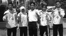 Karateka Sawahlunto Siap Hadapi O2SN dan Porprov XIV Sumbar