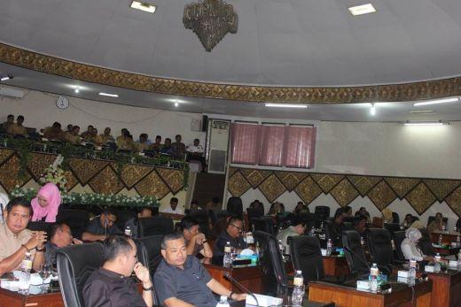 Bahas LKPj Walikota, DPRD Padang Tetapkan Tiga Pansus