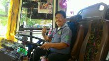 Yusran Nasution, Kiprah Awak Bus Dibalik Bahagianya Perantau Menikmati Lebaran