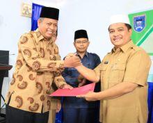 Pulang Menunaikan Haji, Ketua DPRD Payakumbuh Disambut Walikota