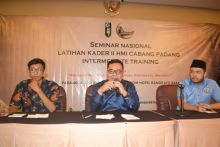 Ketua HMI Cabang Padang Nofria Rizki: Alkudri Cocok Pimpin Kota Padang