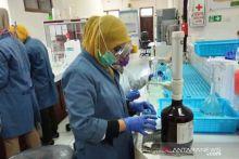 Labor Lingkungan Pariaman Produksi Ratusan Liter Hand Sanitizer