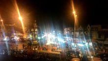 Bagadincik, Polisi Tutup Akses Menuju Pasar Raya Solok