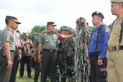Mulai Hari Ini, Selama Dua Hari Wapres Kunjungi Ranah Minang, Pandam I/ Bukit Barisan: 3375 Pasukan Amankan Kunjungan