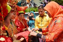 Lomba Pemanfaatan Toga Tingkat Nasional, Tim Penilai Pusat Kunjungi Kelurahan Ngalau Padang Panjang