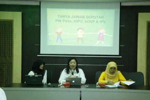 Ada 97 Pos PIN di Kota Padang Panjang, Dinkes: Kami Siap Laksanakan Pekan Imunisasi Nasional Polio