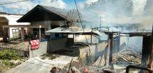 Senin Pagi, 15 Rumah Ludes Terbakar di Ampek Angkek Agam
