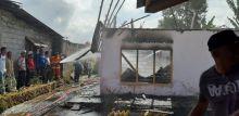 Ditinggal Pergi, Rumah Warga di Gaduik Agam Ini Ludes Dilalap Api