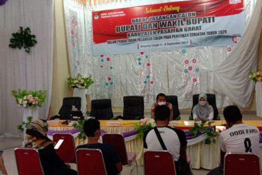Lima Pasangan Bakal Calon Bupati Pasaman Barat Penuhi Syarat
