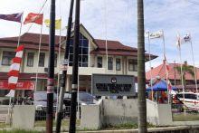 Pengamanan di KPU Sumbar Diperketat Pada Hari Terakhir Pendaftaran
