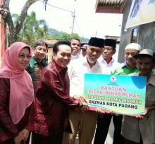 Dibantu Baznas dan UPI, Suhatman Punya Rumah Rancak