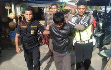 Belum Lama Keluar Penjara, Tertangkap Massa Mencuri Motor di Pasar Payakumbuh