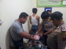 Polres Payakumbuh Ringkus Lagi Dua Tersangka Sabu di Rumah Kontrakan