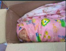 Penemuan Bayi dalam Kardus Ini Gegerkan Warga Bukittinggi