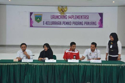 Program E-Kelurahan di Padang Panjang Berguna Manjakan Warga Kota dan Efisiensi