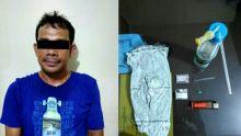 Seorang Pemuda Diamankan Polres Dharmasraya Terkait Kasus Narkoba