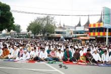 Gusrizal Gazahar Jadi Kahatib Shalat Idul Adha di Payakumbuh