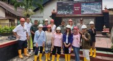 Delegasi Famtrip American Society of Travel Advisors Kunjungi Sawahlunto