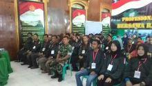 Puluhan Wartawan dan Ormas di Bukittinggi dan Agam Ikuti Pelatihan Bela Negara di Makodim 0304 Agam