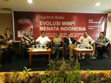 Curhat Saat Ngobrol Buku 'Evolusi Mimpi Menata Indonesia', Adrianof Chaniago Mengaku Sekarang Merasa Lebih Nyaman