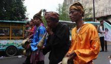 Pawai Sejarah Meriahkan Hari Jadi Kota Padang
