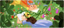 Keren! Kartun Google Doodle Hari Ini Peringati Ulang Tahun Lucy Maud Montgomery