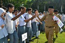 Hadapi Ujian Nasional, Siswa Sekolah di Padang Bertekad Jujur