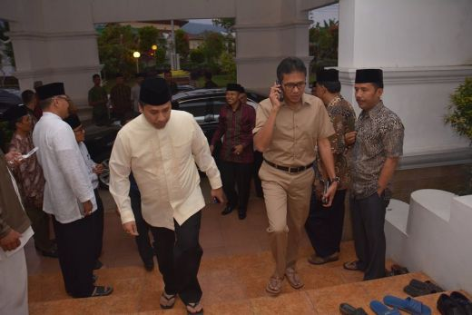 Gubernur Irwan Prayitno Awali Safari Ramadhan di Kota Serambi Mekah