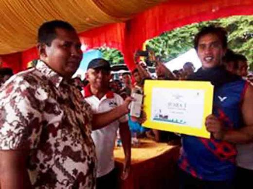 Benteng Sepakat, Juara I Lomba Salaju Sampan Festival Siti Nurbaya 2016