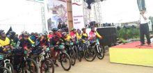 Ratusan Peserta Ikuti Mountain Bike Exploring Lansek Manih 2 di Sijunjung