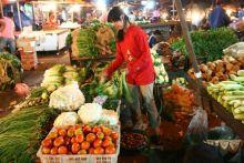 Wako Riza Falepi Pantau Harga Sembako di Pasar Ibuh