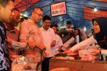 Pasar Pabukoan Payakumbuh Dikujungi Rombongan Pemko