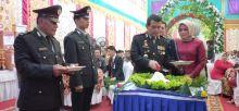 Kapolres Pasaman Bacakan Amanat Presiden RI dalam Upacara Peringatan HUT Bhayangkara ke 73 di Bonjol
