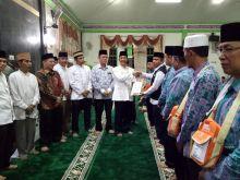 Bupati Yusuf Lubis Lepas 303 Orang Calon Jemaah Haji Kabupaten Pasaman ke Tanah Suci