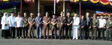 HUT Bhayangkara Ke-73 di Pasaman Barat Dimeriahkan Pesta Rakyat