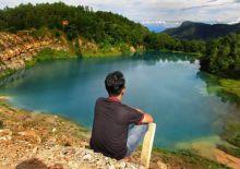Danau Biru Sawahlunto Kini Jadi Pesona Baru Sumatera Barat