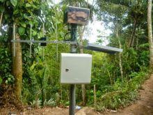 Deteksi Longsoran, Tim Geologi UGM dan BPBD Agam Pasang EWS di Nagari Baringin Palembayan