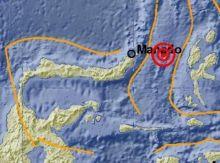 Gempa 5,6 SR Goyang Bitung, Sulawesi Utara